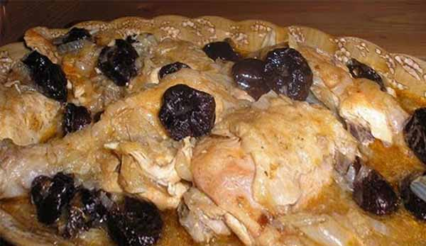 Блюдо из куриных окорочков